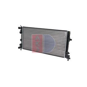 Kühler, Motorkühlung Netzmaße: 650x340x26 mit OEM-Nummer 6R0820411T