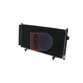 Kondensator, Klimaanlage Netzmaße: 620x300x16 mit OEM-Nummer 73210SC000
