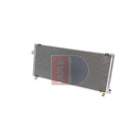 AKS DASIS  352060N Kondensator, Klimaanlage Netzmaße: 680x300x20