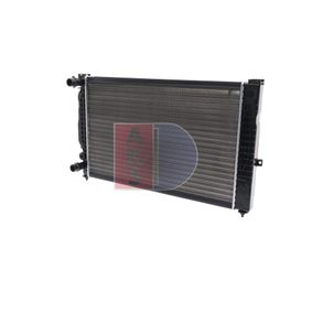 Wasserkühler VW PASSAT Variant (3B6) 1.9 TDI 130 PS ab 11.2000 AKS DASIS Kühler, Motorkühlung (480390N) für