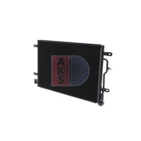 AKS DASIS Kondensator, Klimaanlage 482300N für AUDI A4 Avant (8E5, B6) 3.0 quattro ab Baujahr 09.2001, 220 PS