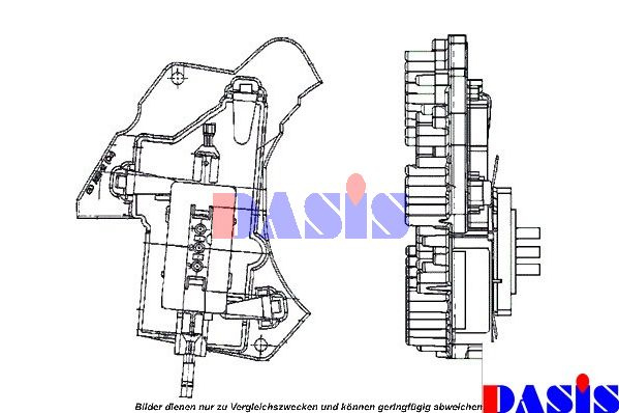 Steuergerät, Heizung / Lüftung 741340N AKS DASIS 741340N in Original Qualität