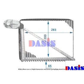 Verdampfer VW PASSAT Variant (3B6) 1.9 TDI 130 PS ab 11.2000 AKS DASIS Verdampfer, Klimaanlage (820211N) für