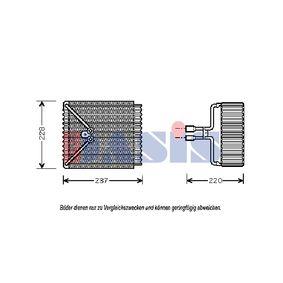 Verdampfer, Klimaanlage 820274N MONDEO 3 Kombi (BWY) 2.0 TDCi Bj 2002