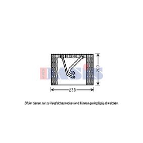 Evaporator, air conditioning 820309N PUNTO (188) 1.2 16V 80 MY 2002
