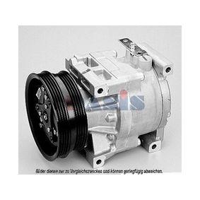 Compressor, air conditioning 850007N PUNTO (188) 1.2 16V 80 MY 2004