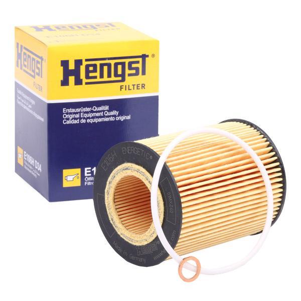 HENGST FILTER  E106H D34 Ölfilter Ø: 83mm, Innendurchmesser 2: 40mm, Innendurchmesser 2: 40mm, Höhe: 106mm