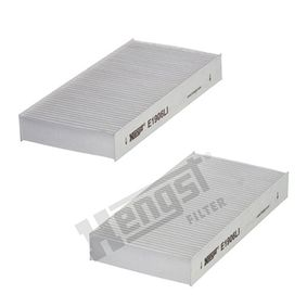 Filter, interior air Length: 225mm, Width: 112mm, Height: 30mm with OEM Number 80292 SCA E11