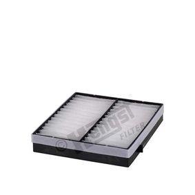 Filter, Innenraumluft Länge: 234,0mm, Breite: 225,0mm, Höhe: 40,0mm mit OEM-Nummer 163.835.02.47