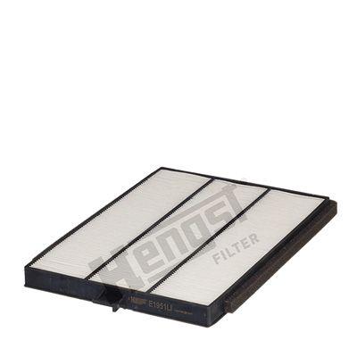 HENGST FILTER  E1951LI Filter, Innenraumluft Länge: 282mm, Breite: 212mm, Höhe: 20mm