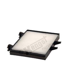 Filter, Innenraumluft Länge: 215mm, Breite: 155mm, Höhe: 25mm mit OEM-Nummer MR 360889
