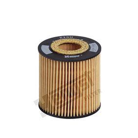 Ölfilter Ø: 67mm, Innendurchmesser 2: 26mm, Innendurchmesser 2: 29mm, Höhe: 71mm mit OEM-Nummer LF01-14302 9A