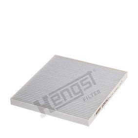 Filter, Innenraumluft Länge: 227,0mm, Breite: 202,0mm, Höhe: 16,5mm mit OEM-Nummer 9.71332E210