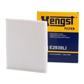 Filter, Innenraumluft Länge: 220mm, Breite: 265mm, Höhe: 20mm mit OEM-Nummer 6 808 622