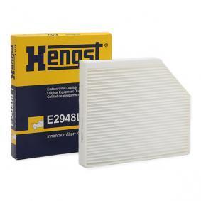 Filter, Innenraumluft Art. Nr. E2948LI 120,00€