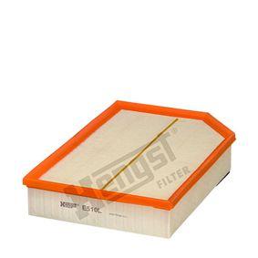 Luftfilter Länge: 327,0mm, Breite: 216,0mm, Höhe: 62,0mm mit OEM-Nummer 8 638 600