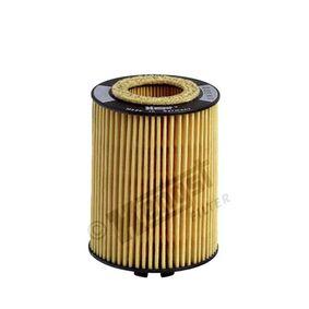 HENGST FILTER  E600H D38 Ölfilter Ø: 62,0mm, Innendurchmesser: 28,0mm, Höhe: 86,5mm