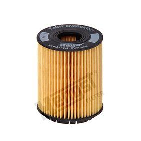 Filtro olio Ø: 65mm, Diametro interno 2: 24mm, Diametro interno 2: 24mm, Alt.: 84mm con OEM Numero 71765460