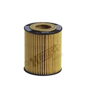 Ölfilter Ø: 62,0mm, Innendurchmesser 2: 24,5mm, Innendurchmesser 2: 31,0mm, Höhe: 77,5mm mit OEM-Nummer 565 0316