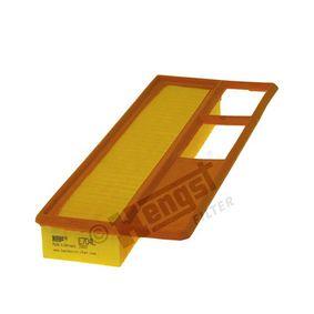 Filtro aria Lunghezza: 376mm, Largh.: 148mm, Alt.: 48mm, Lunghezza: 376mm con OEM Numero 7176 5453