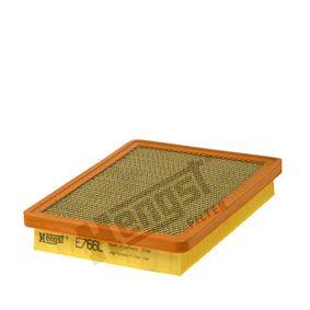 Luftfilter Länge: 248,0mm, Breite: 180,0mm, Höhe: 40,0mm mit OEM-Nummer 71 736 139