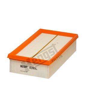Luftfilter Länge: 239mm, Breite: 141mm, Höhe: 58mm, Länge: 239mm mit OEM-Nummer 2232 400QAB