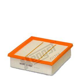 Luftfilter Länge: 211,0mm, Breite: 202,0mm, Höhe: 66,0mm mit OEM-Nummer 95513087