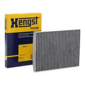Filter, interior air Length: 279mm, Width: 206mm, Height: 26mm with OEM Number 1H0091800SE