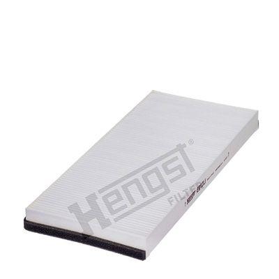 HENGST FILTER  E912LI Filter, Innenraumluft Länge: 374mm, Breite: 167mm, Höhe: 28mm