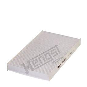 Filter, Innenraumluft Art. Nr. E934LI 120,00€
