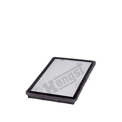 HENGST FILTER  E939LI Filtro, aire habitáculo Long.: 292,0mm, Ancho: 170,0mm, Altura: 25,5mm
