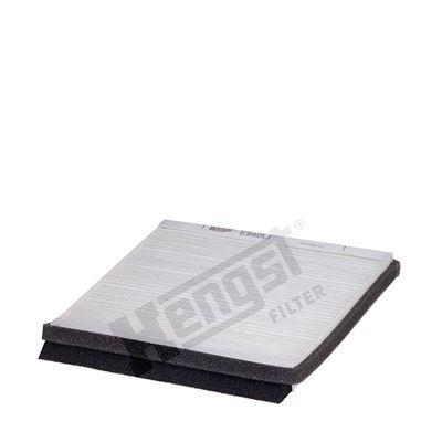 HENGST FILTER  E940LI Filter, Innenraumluft Länge: 220mm, Breite: 210mm, Höhe: 19mm