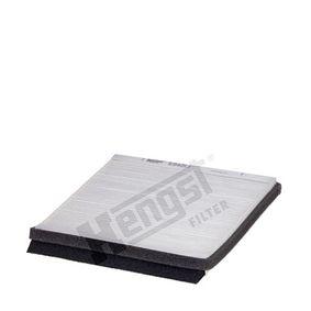 Filter, Innenraumluft Länge: 220mm, Breite: 210mm, Höhe: 19mm mit OEM-Nummer 6441 H7