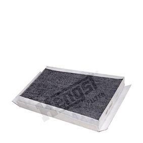 Filter, Innenraumluft Länge: 311,0mm, Breite: 254,0mm, Höhe: 35,0mm mit OEM-Nummer A211 830 0018
