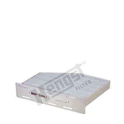 HENGST FILTER  E998LI Filter, Innenraumluft Länge: 271mm, Breite: 213mm, Höhe: 58mm