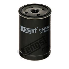 HENGST FILTER  H14/2W Ölfilter Ø: 76,0mm, Höhe: 122,5mm