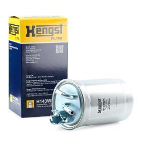 HENGST FILTER  H143WK Kraftstofffilter Höhe: 174,0mm