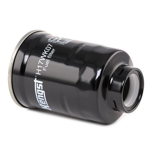 Inline fuel filter HENGST FILTER H17WK07 4030776011135