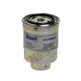 Kraftstofffilter Höhe: 135mm mit OEM-Nummer 16403-59E0A