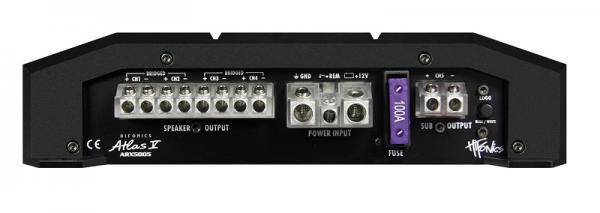 Audioförstärkare HIFONICS ARX5005 Expertkunskap