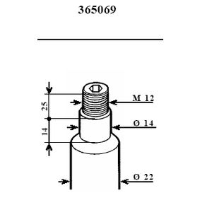 Stoßdämpfer mit OEM-Nummer 11 35 8 58