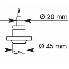 Stoßdämpfer mit OEM-Nummer 31321135892