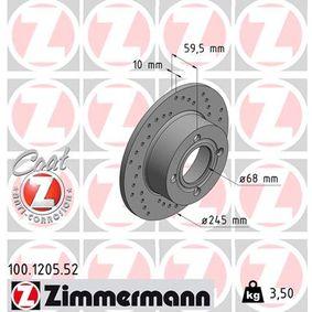 Bremsscheibe Art. Nr. 100.1205.52 120,00€