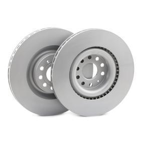 Спирачен диск Ø: 345мм с ОЕМ-номер 1K0615301AB