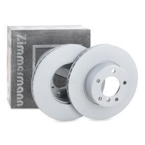 Bremsscheibe Bremsscheibendicke: 22mm, Lochanzahl: 5, Ø: 296mm mit OEM-Nummer 34111164839