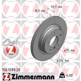 Bremsscheibe Art. Nr. 150.1289.20 120,00€