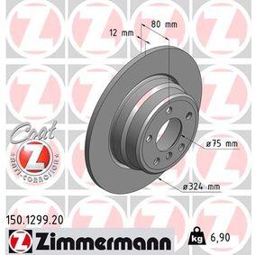 Bremsscheibe 150.1299.20 X5 (E53) 3.0 d Bj 2004
