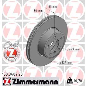 Bremsscheibe Art. Nr. 150.3407.20 120,00€