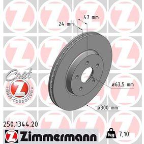 Bremsscheibe Art. Nr. 250.1344.20 120,00€