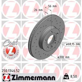 Bremsscheibe Art. Nr. 250.1346.52 120,00€